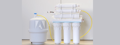 Reverse osmosis under sink system